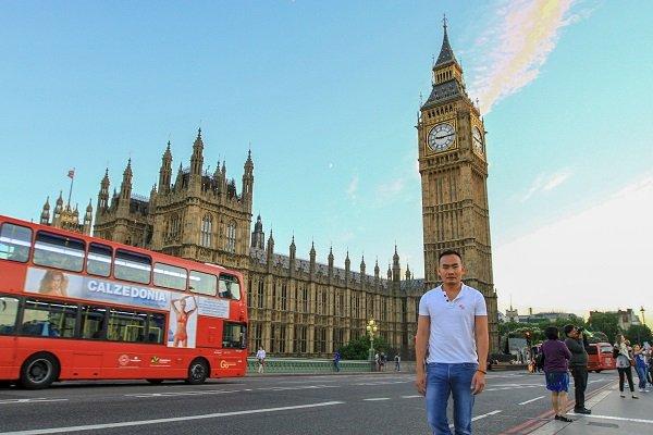 London mùa dạ yến thảo Ảnh 1