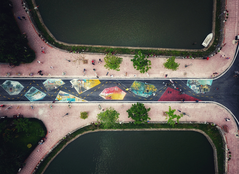 Những ao, hồ, sông ngòi độc đáo ở Hà Nội Ảnh 5