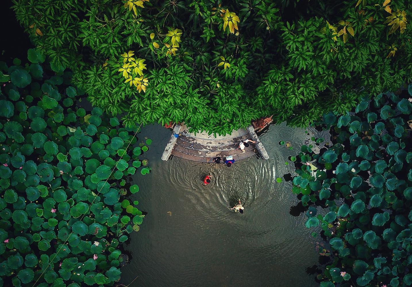 Những ao, hồ, sông ngòi độc đáo ở Hà Nội Ảnh 9