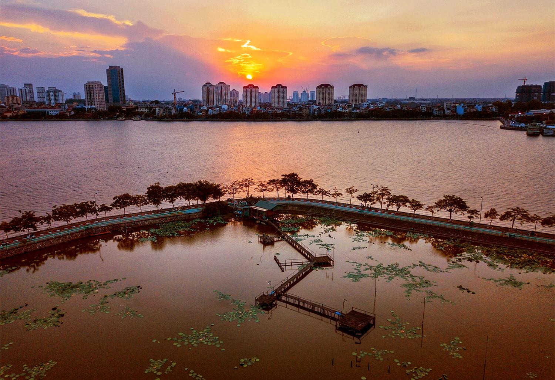Những ao, hồ, sông ngòi độc đáo ở Hà Nội Ảnh 8