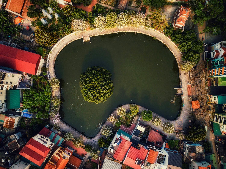 Những ao, hồ, sông ngòi độc đáo ở Hà Nội Ảnh 3