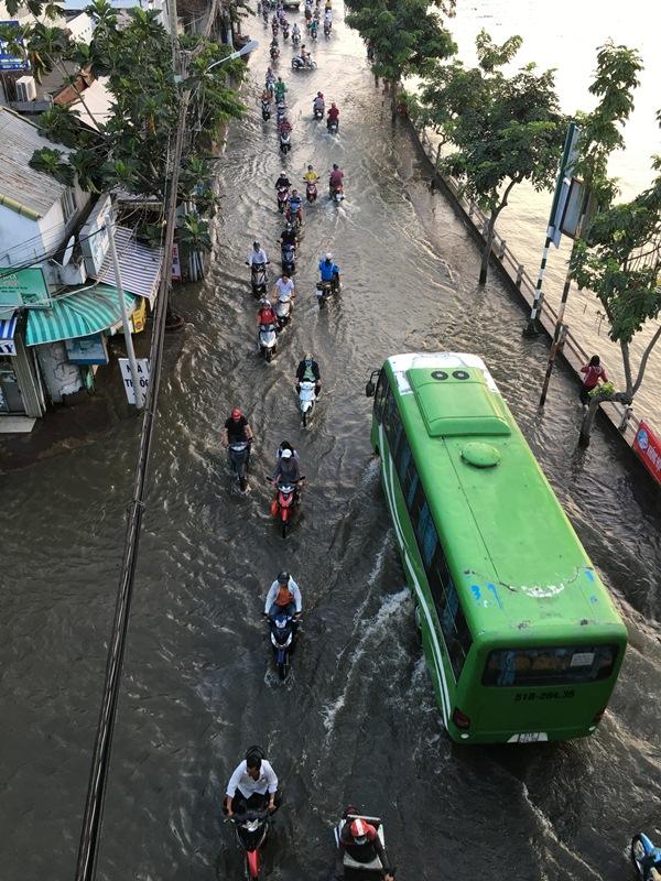 Triều cường bủa vây TP.Hồ Chí Minh Ảnh 7
