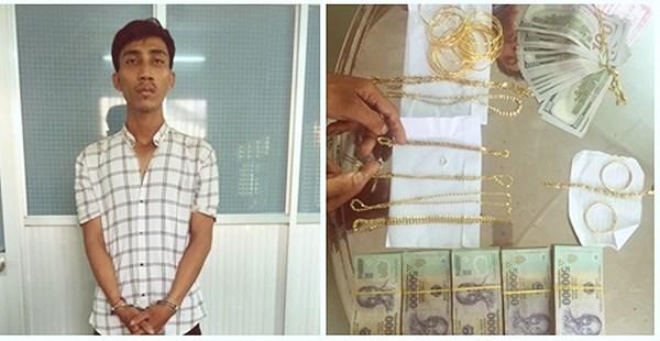 Bắt giữ đối tượng trộm gần 100 lượng vàng Ảnh 1