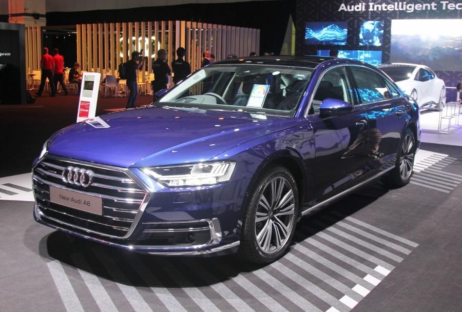 Cận cảnh Audi A8L 2018 phiên bản kéo dài giá hơn 7 tỷ đồng Ảnh 1