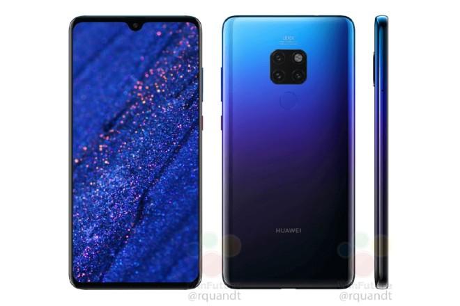 Huawei Mate 20 khoác màu gradient Twilight đẹp xuất sắc Ảnh 1