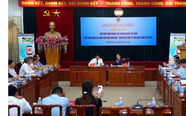Phát huy trách nhiệm của doanh nghiệp trong cuộc vận động người Việt ưu tiên dùng hàng Việt Ảnh 3