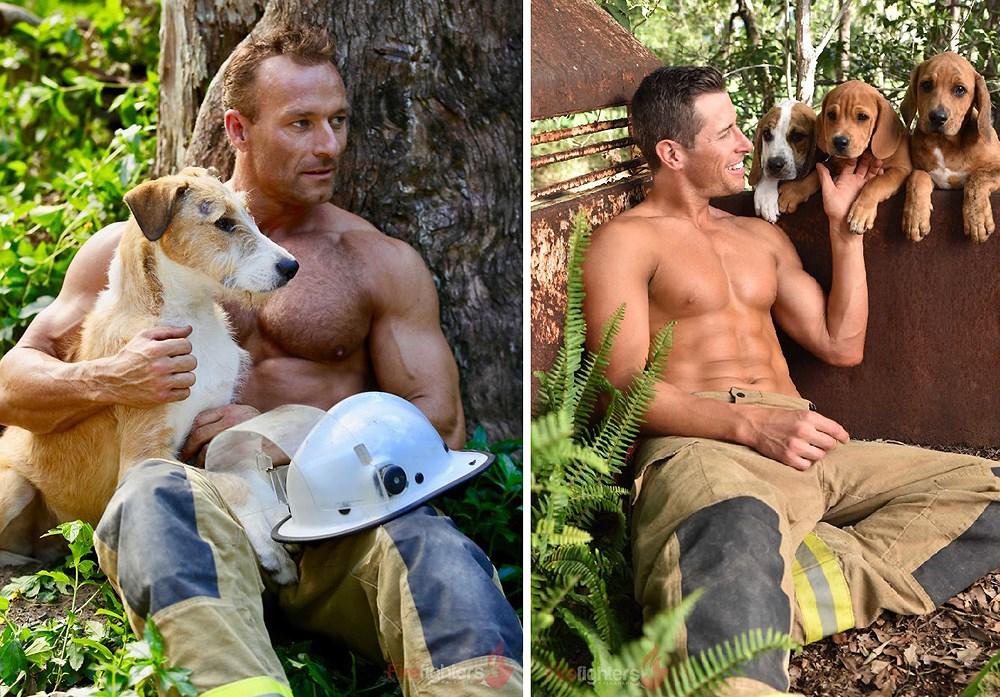 Lính cứu hỏa Australia lại 'thiêu đốt' chị em qua bộ ảnh mới Ảnh 15