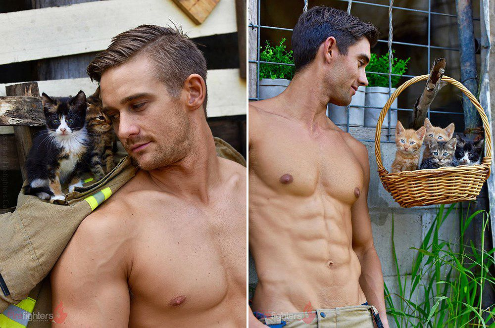 Lính cứu hỏa Australia lại 'thiêu đốt' chị em qua bộ ảnh mới Ảnh 2