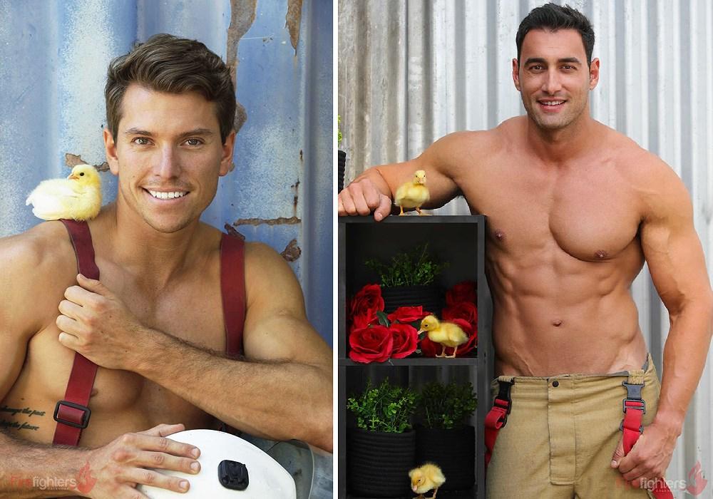 Lính cứu hỏa Australia lại 'thiêu đốt' chị em qua bộ ảnh mới Ảnh 21