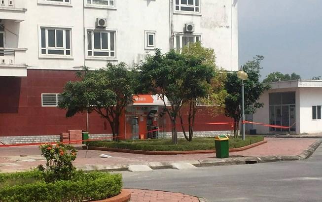 Cây ATM ở chung cư nghi bị gài mìn, gần 1.000 người sơ tán Ảnh 1