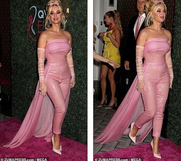 Katy Perry diện 'cây hồng' xinh như búp bê Barbie Ảnh 6