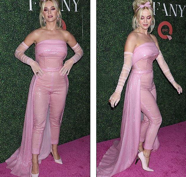 Katy Perry diện 'cây hồng' xinh như búp bê Barbie Ảnh 3