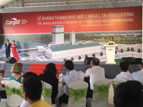 Cargill khánh thành nhà máy thức ăn chăn nuôi lớn nhất Việt Nam Ảnh 2