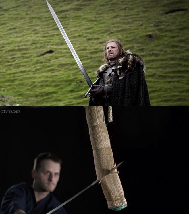 Điểm khác biệt về kiếm của Châu Âu và Châu Á Ảnh 1