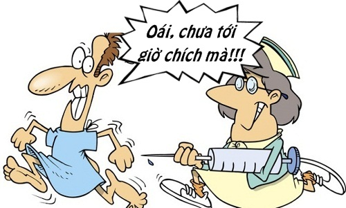 Trưa cười: Bệnh nhân choáng váng với lý do y tá đòi tiêm sớm Ảnh 1
