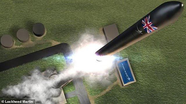 Anh sẽ khai thác cảng hàng không vũ trụ vào năm 2020 Ảnh 1