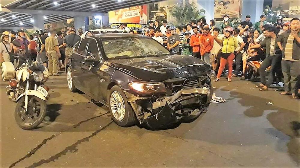 Nữ tài xế lái 'xe điên' đâm hàng loạt xe máy có biểu hiện say xỉn và hoảng sợ Ảnh 2
