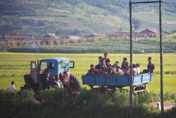 Hình ảnh chân thực về cuộc sống ở ngoại ô Bình Nhưỡng Ảnh 2