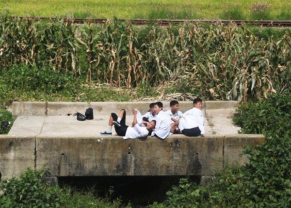 Hình ảnh chân thực về cuộc sống ở ngoại ô Bình Nhưỡng Ảnh 19