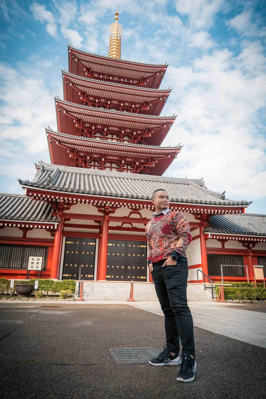 Chuyến đi Nhật Bản đáng nhớ của nhà thiết kế Việt Ảnh 4