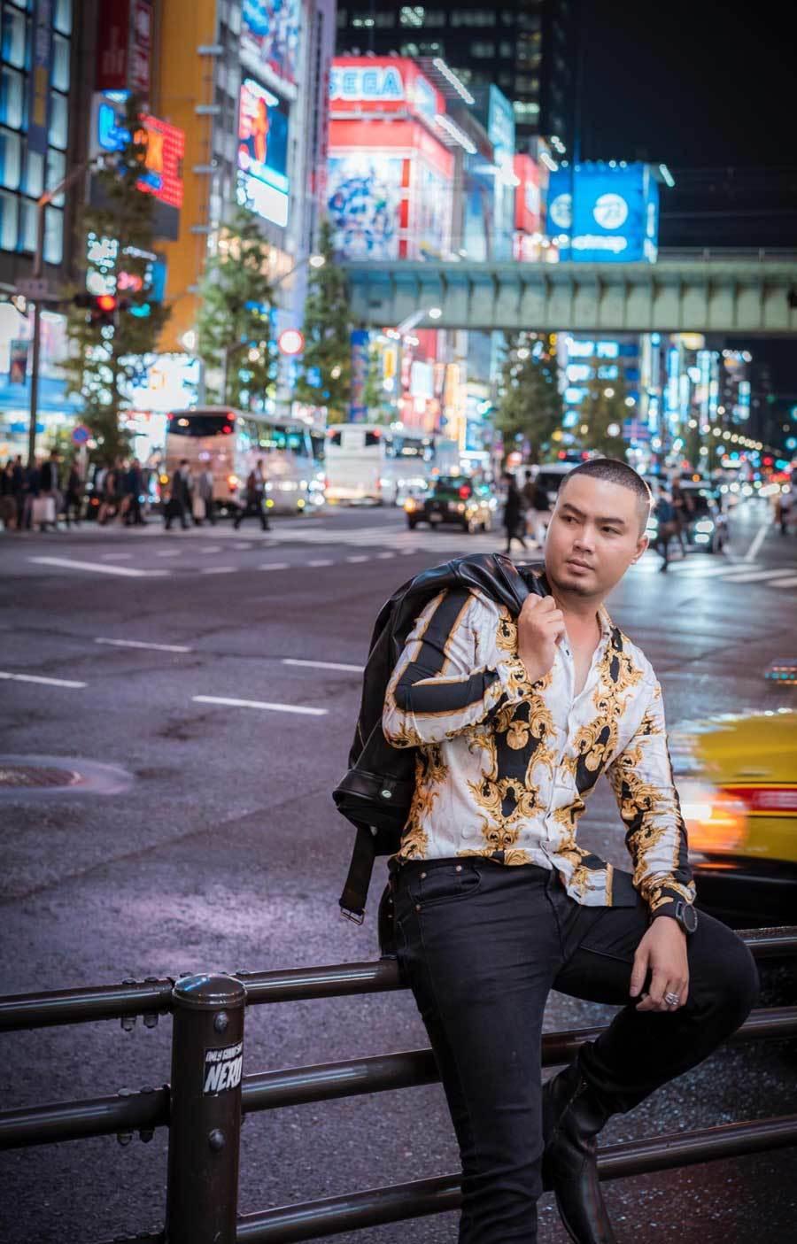 Chuyến đi Nhật Bản đáng nhớ của nhà thiết kế Việt Ảnh 1