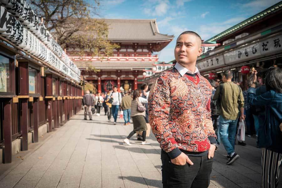 Chuyến đi Nhật Bản đáng nhớ của nhà thiết kế Việt Ảnh 5