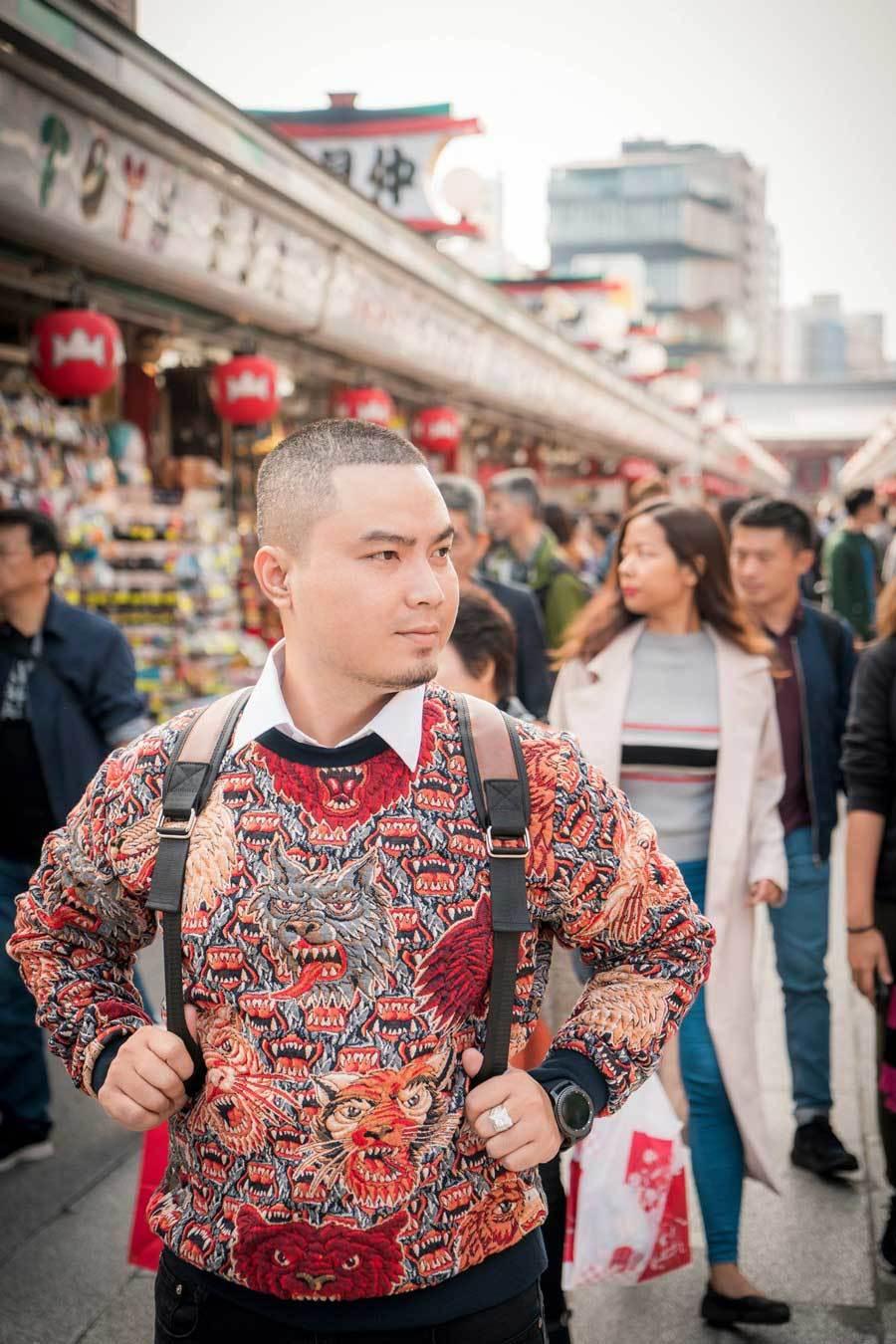 Chuyến đi Nhật Bản đáng nhớ của nhà thiết kế Việt Ảnh 7