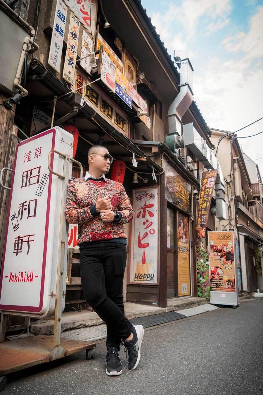 Chuyến đi Nhật Bản đáng nhớ của nhà thiết kế Việt Ảnh 8
