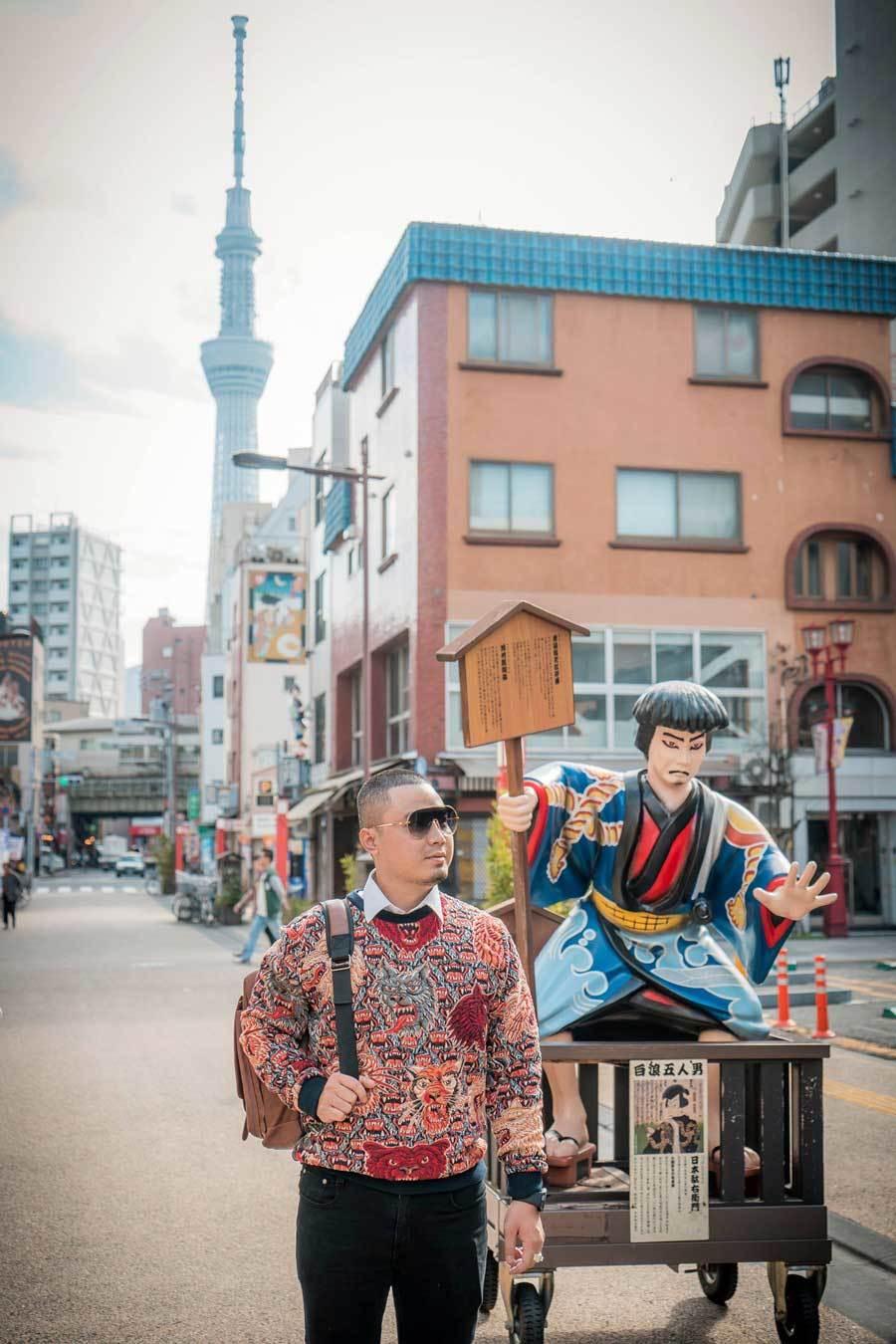 Chuyến đi Nhật Bản đáng nhớ của nhà thiết kế Việt Ảnh 2