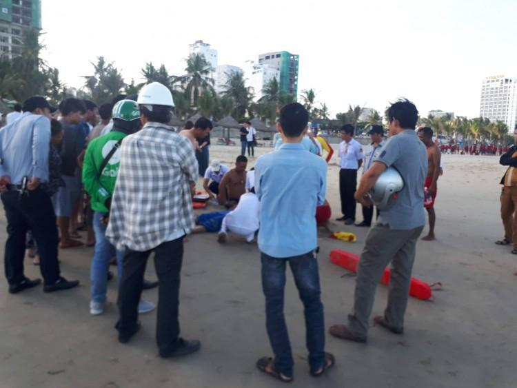 Du khách Trung Quốc tử vong khi đang tắm biển ở Đà Nẵng Ảnh 1