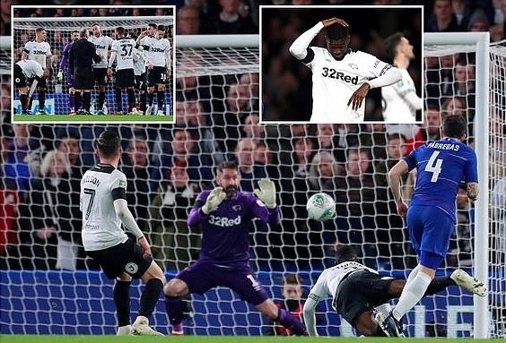 Lampard đối đầu Chelsea tại Stamford Bridge, cầu thủ đội khách ghi 4 bàn Ảnh 1