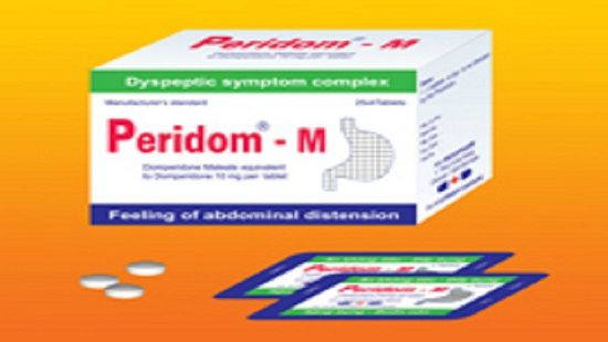 Đình chỉ lưu hành thuốc viên nén bao phim Peridom-M Ảnh 1