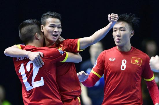 Đội tuyển futsal Việt Nam thắng đậm ở trận ra quân giải Đông Nam Á Ảnh 1