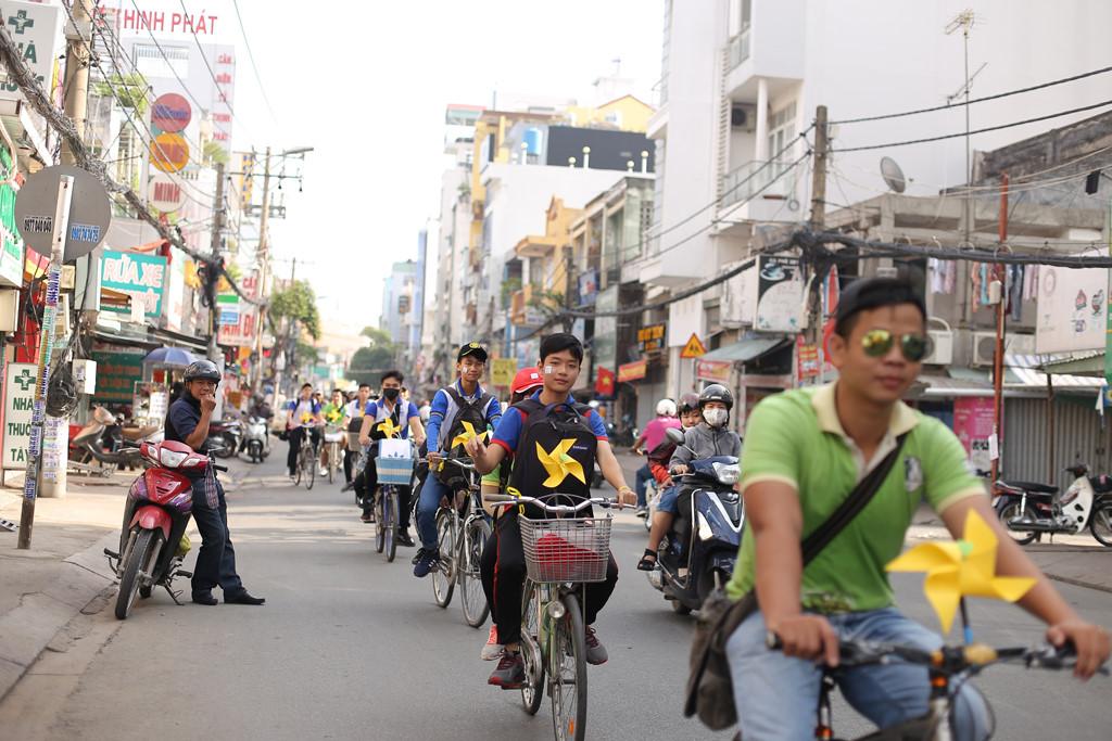 Khám phá Sài Gòn bằng xe đạp Ảnh 7