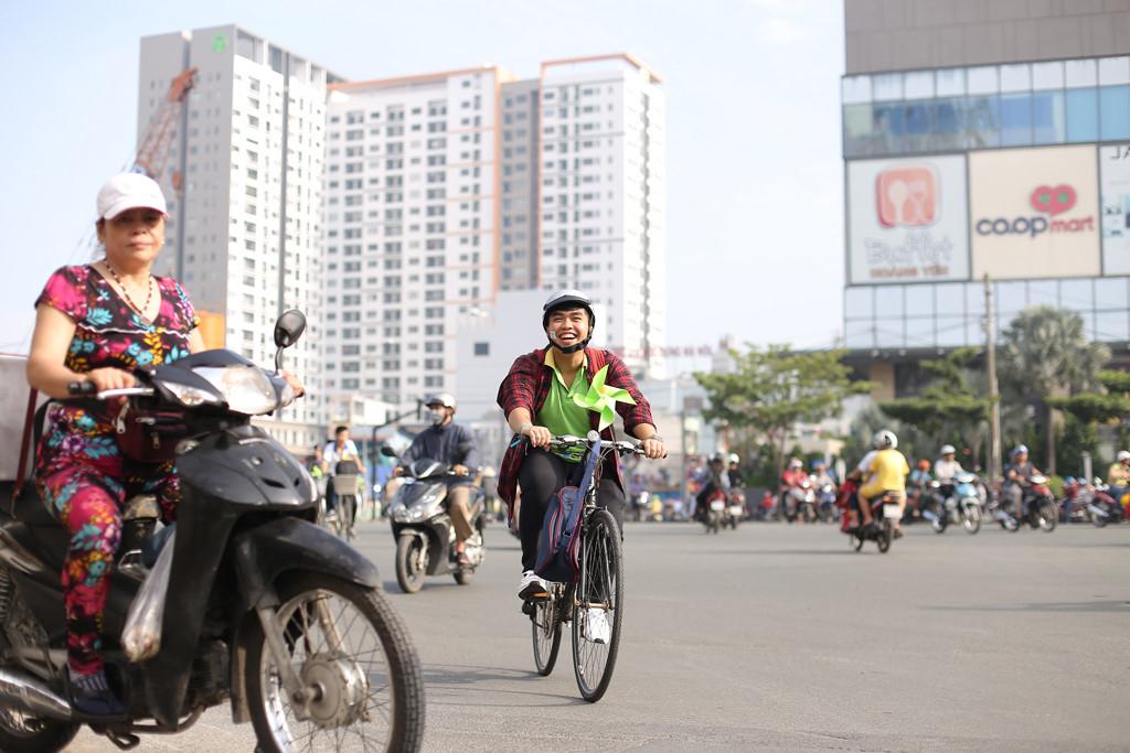 Khám phá Sài Gòn bằng xe đạp Ảnh 3