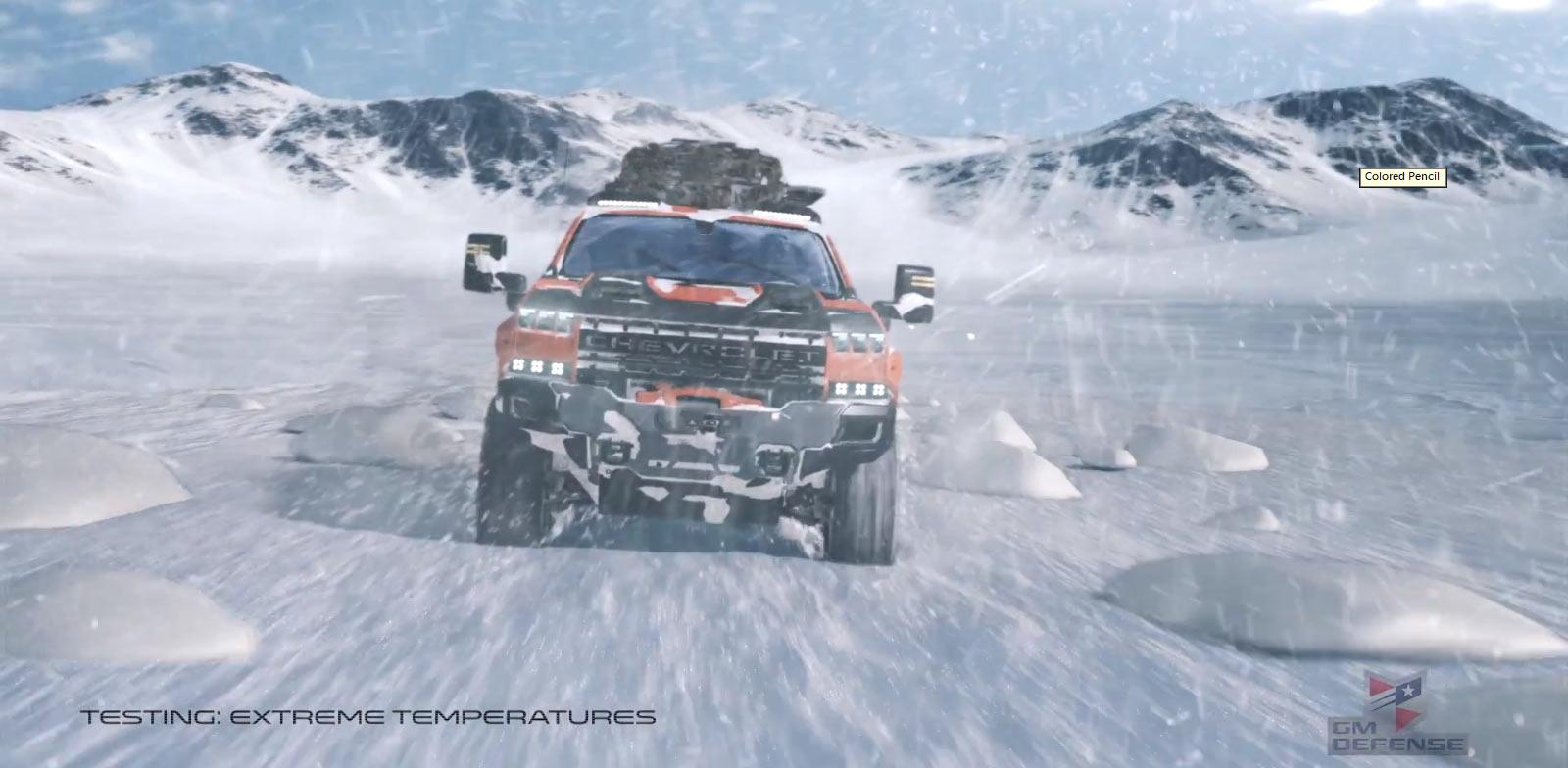 Chevrolet Silverado ZH2: 'Vua Offroad' thách thức mọi địa hình Ảnh 4