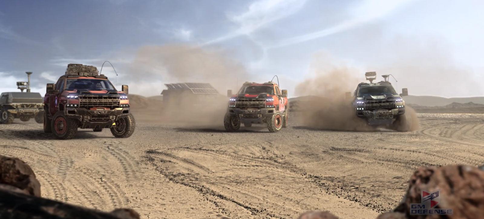Chevrolet Silverado ZH2: 'Vua Offroad' thách thức mọi địa hình Ảnh 1