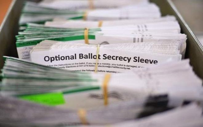 Cách bỏ phiếu không lo bị hack kết quả của một bang trong bầu cử giữa kỳ ở Mỹ Ảnh 1