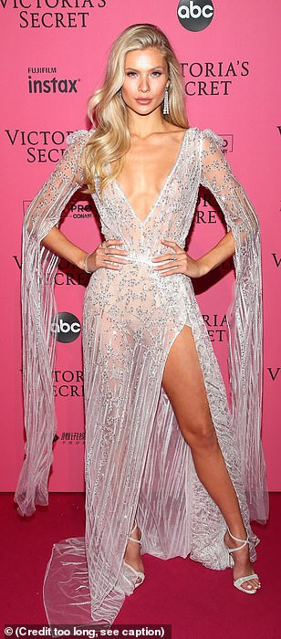 Bella Hadid diện mốt không nội y dự tiệc Victoria's Secret Show Ảnh 16