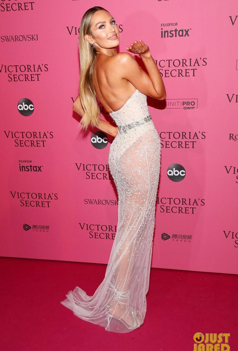 Bella Hadid diện mốt không nội y dự tiệc Victoria's Secret Show Ảnh 7