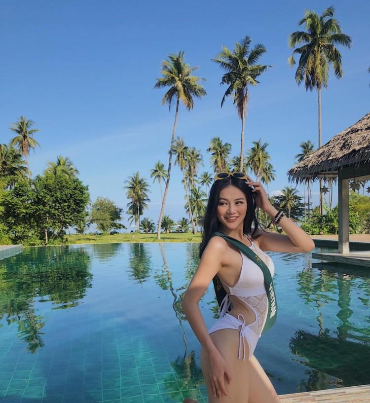 Ngắm cặp đùi 'đá tảng' nóng bỏng giúp Phương Khánh đăng quang Miss Earth 2018 Ảnh 6