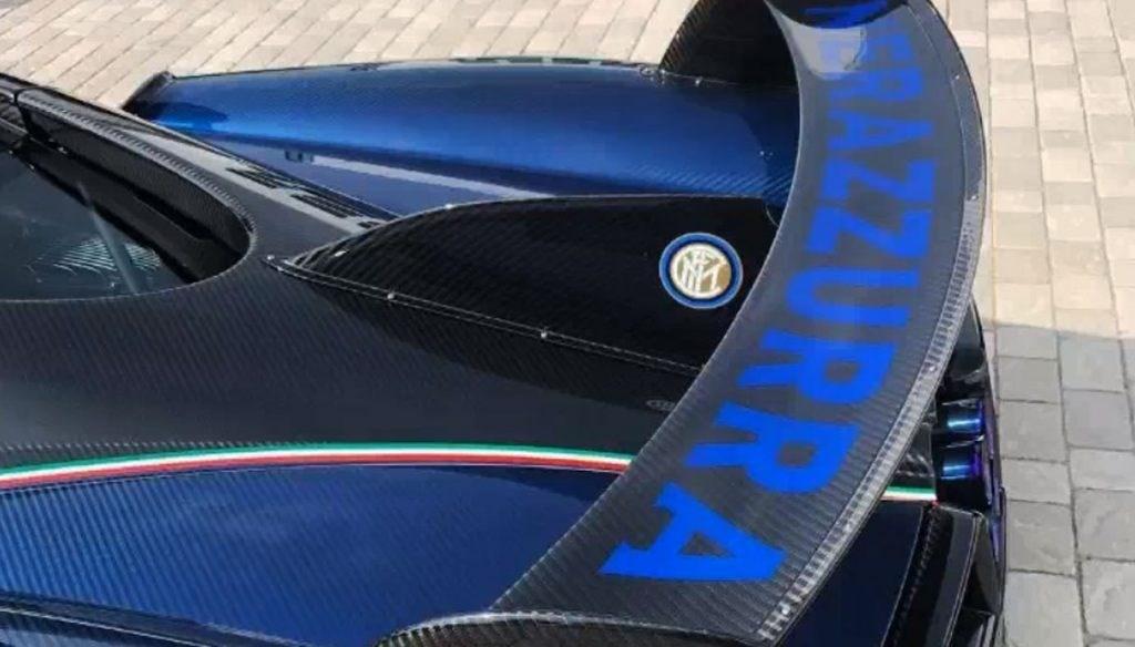 Ảnh chi tiết Pagani Huayra BC của Chủ tịch Inter Milan Ảnh 9