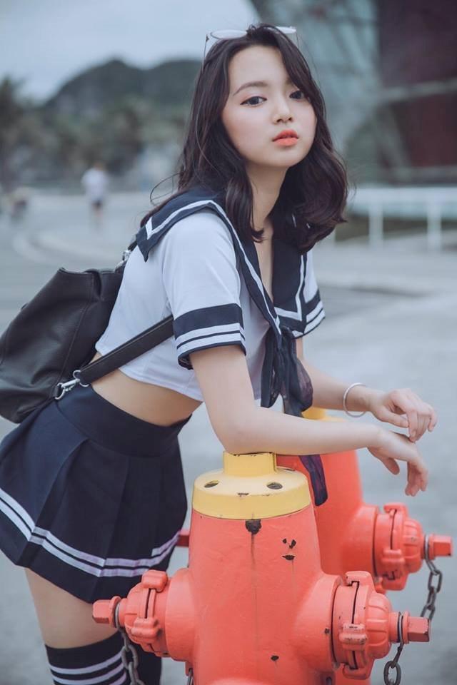 Say như điếu đổ trước vẻ đẹp sexy của cô gái Hải Phòng Ảnh 9