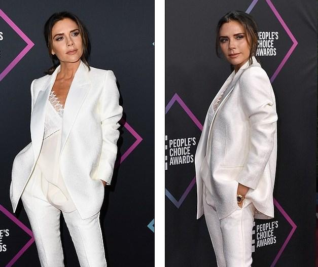 Victoria Beckham thanh lịch với vest trắng trên thảm đỏ sự kiện Ảnh 8