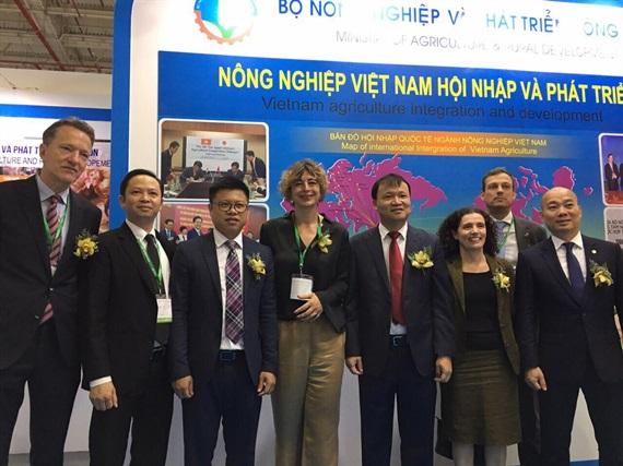Bộ NN-PTNT tham gia gian tại Foodexpo 2018 Ảnh 2