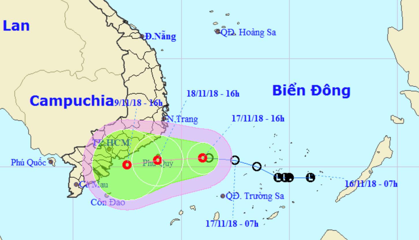 TP.HCM chỉ đạo khẩn ứng phó áp thấp nhiệt đới gần bờ Ảnh 2