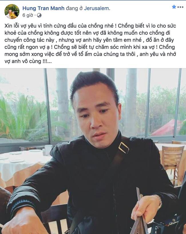 Chồng MC Hoàng Linh lên tiếng xin lỗi vợ và hé lộ lý do thật sự vợ khiến vợ nổi giận Ảnh 1