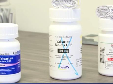 Thuốc huyết áp Losartan nguyên liệu Trung Quốc chứa chất gây ung thư ảnh 1