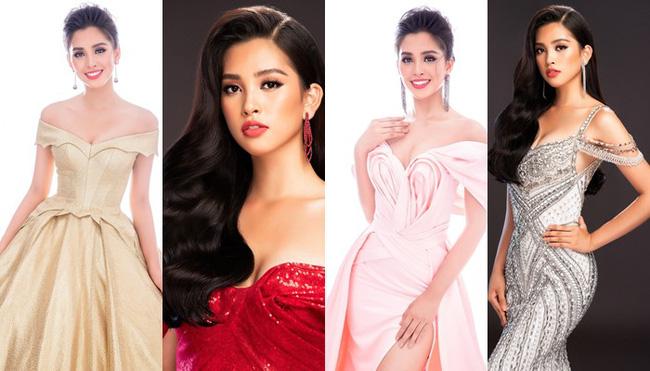 Bùi Phương Nga ra sức tư vấn trang phục dạ hội cho Tiểu Vy tại Miss World 2018 Ảnh 1