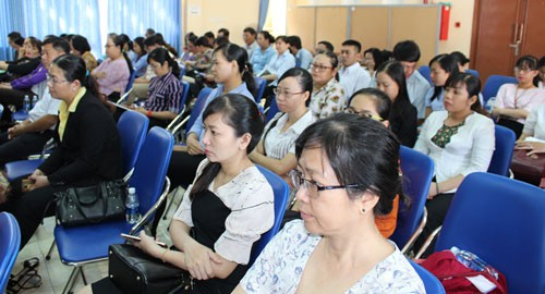 Phổ biến nghị quyết Đại hội Công đoàn Việt Nam và CĐ TP HCM đến cơ sở Ảnh 1